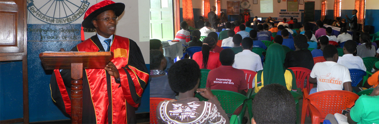 Prof. Baguma David holds an Inaugural Lecture