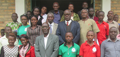 Lt. Col. Stephen Kananura Holds a Public Lecture