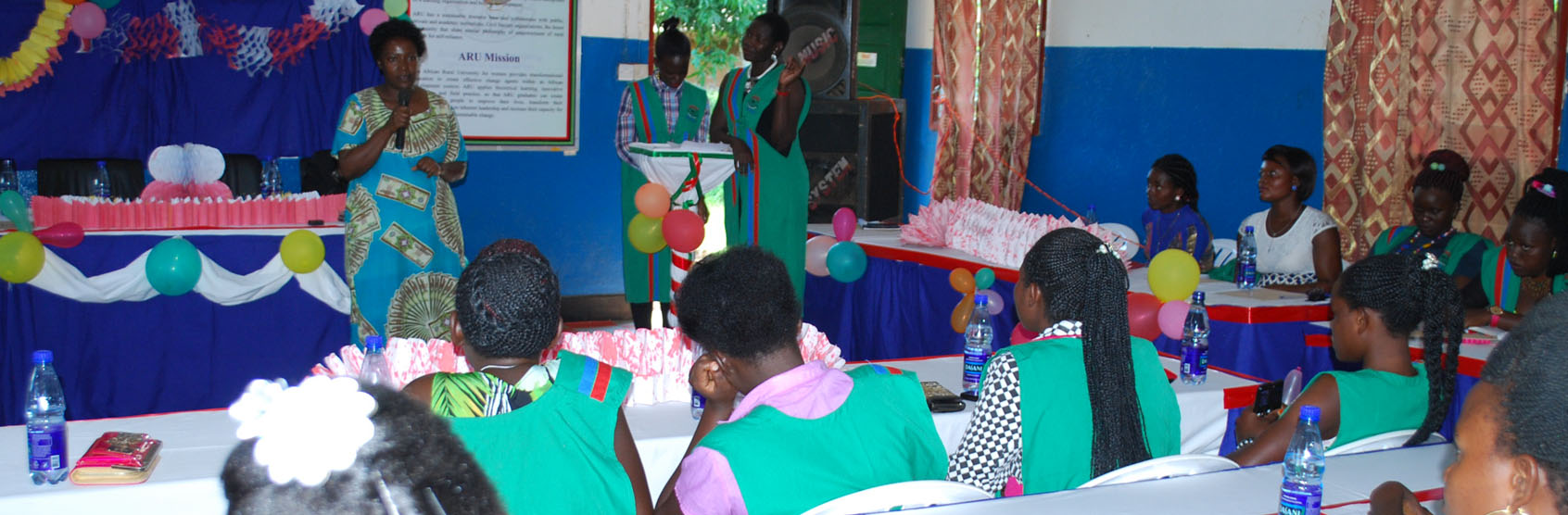 Ms. Jacqueline Akello Calls upon ARU Students to be Exemplary Leaders