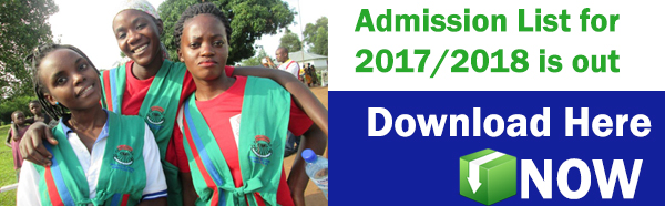 African Rural University Admission List 2017-2018 intake