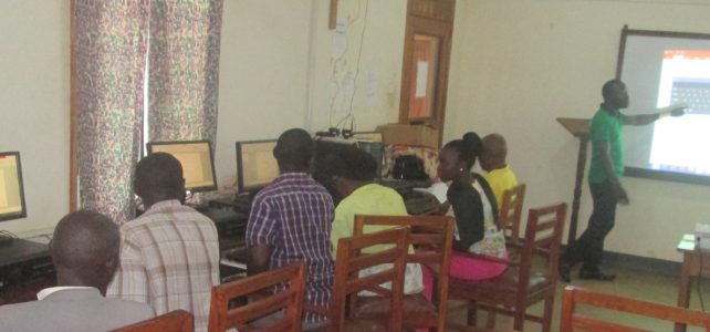 ARU Academic Staff trained in E-Learning