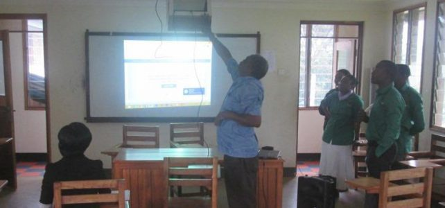ARU Installs Projectors in Lecture Theaters