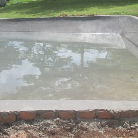 Demonstrating Fish Farming Using Ferro-cement Pond