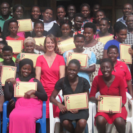 Professors Without Borders(PROWIBO) award ARU staff and students Certificates of Accomplishment