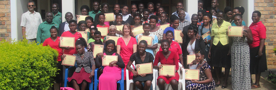 PROWIBO award certificates  to ARU staff and students