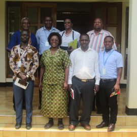 African Rural University hosts a team of five members from Uganda Revenue Authority Hoima Regional Office