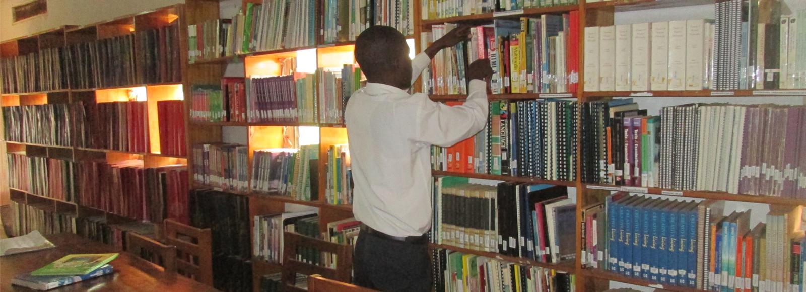 Fully Stocked Library