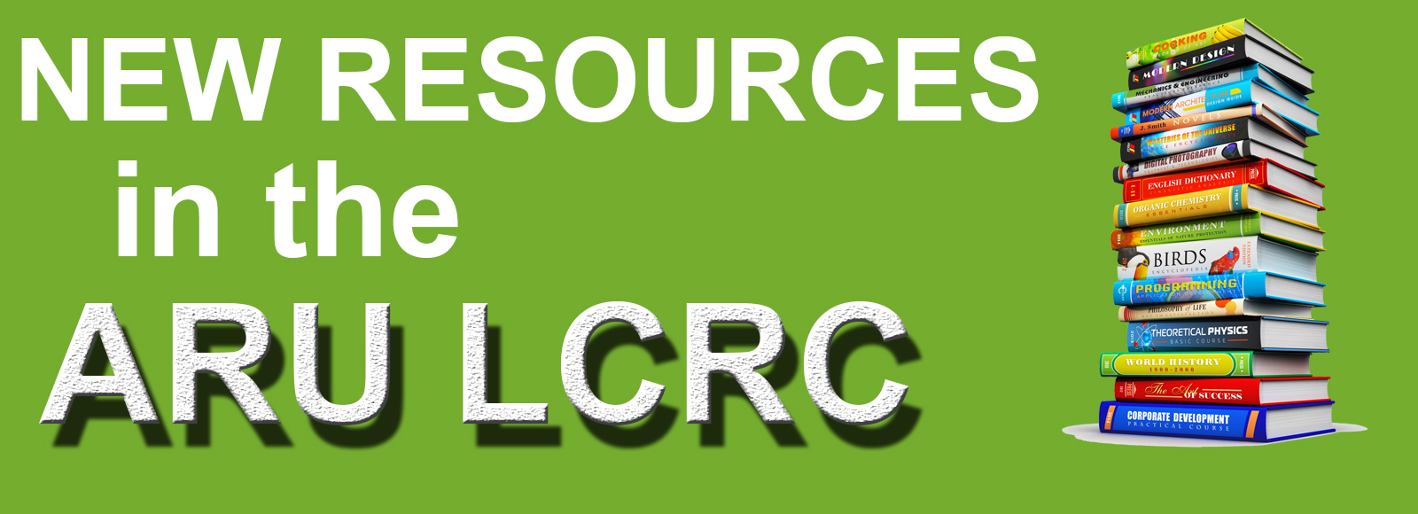 New Resources in the Library