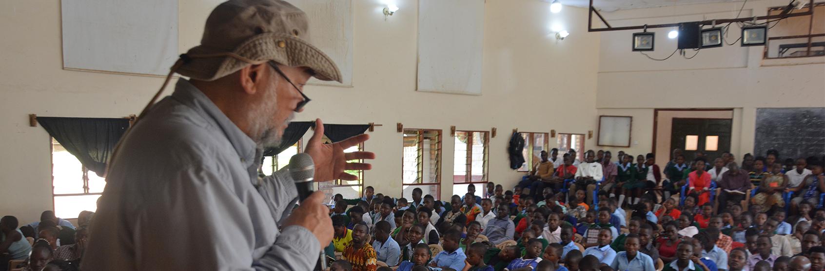 John D. Liu During a public lecture